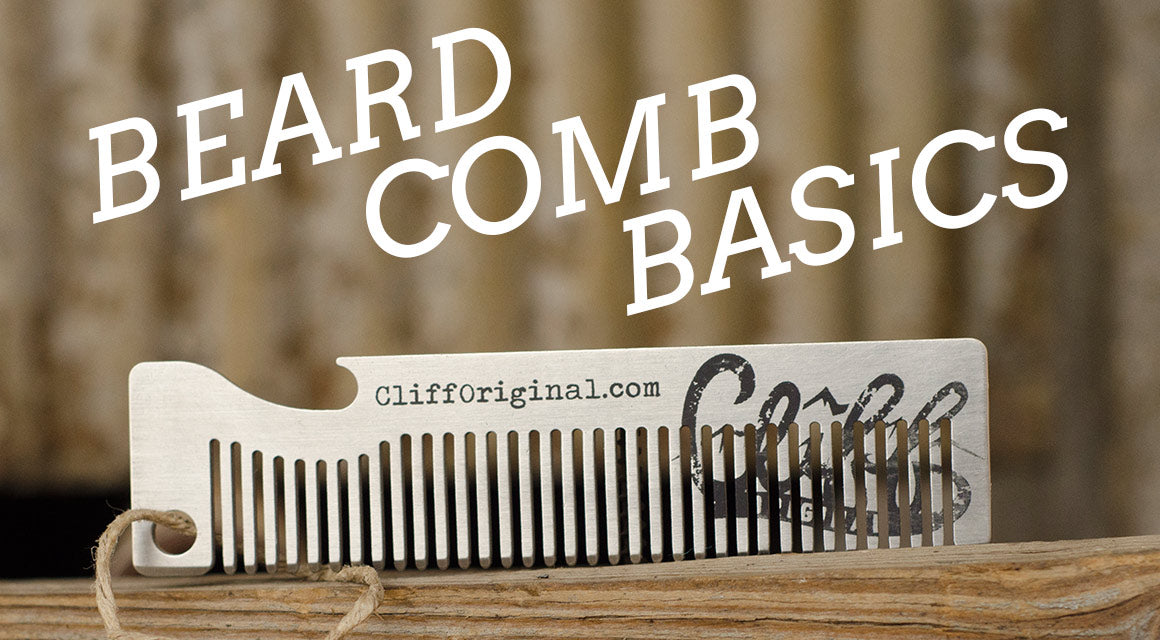 how to use a beard comb - All natural beard care