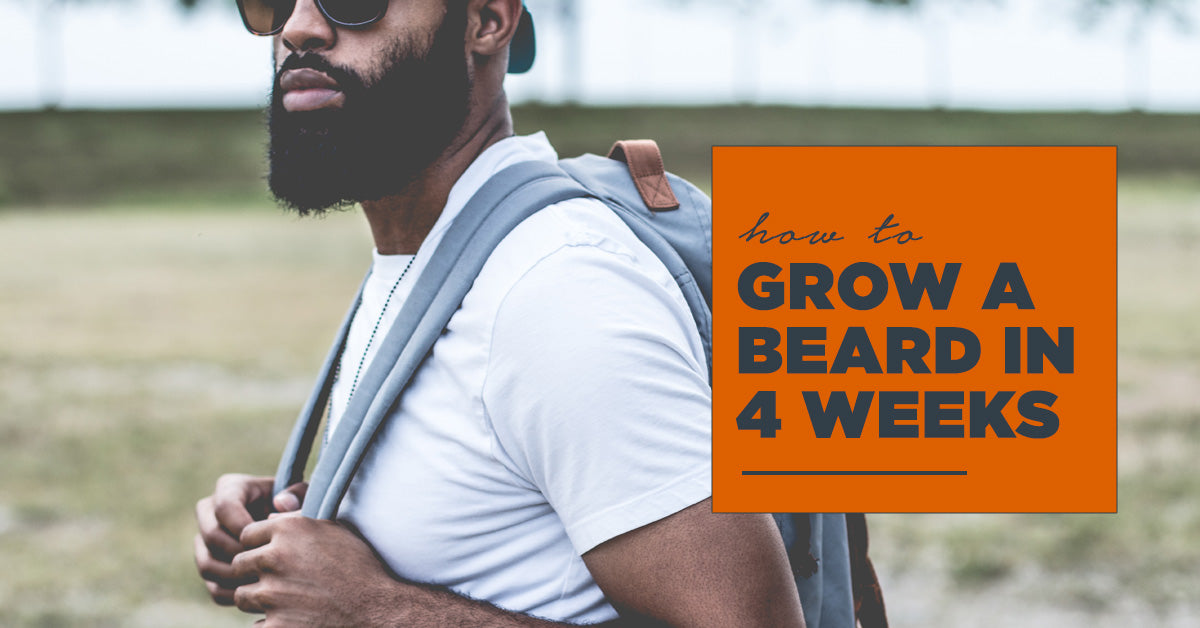 how to grow a beard in 4 weeks - Cliff Original