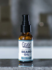 Beard Oil - Tea Tree Natural & Organic