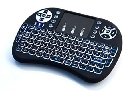 Mini Wireless Backlit Keyboard Remote