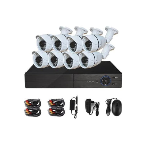 8 Channel 1080P CCTV Surveillance Kit with Cameras