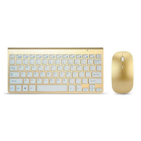 Slim Multimedia Keyboard & Mouse Combo