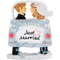 Topper car just married 8.9x10.8a cm re