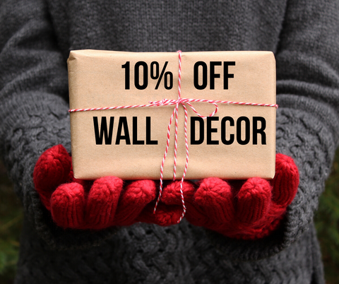 10% Off Wall Decor