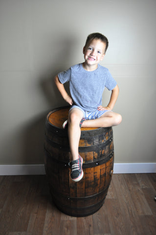 Josiah on Barrel