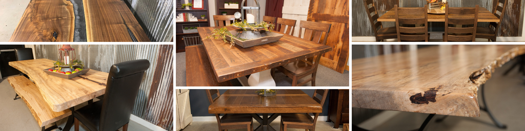 RRD Dining Table Collage