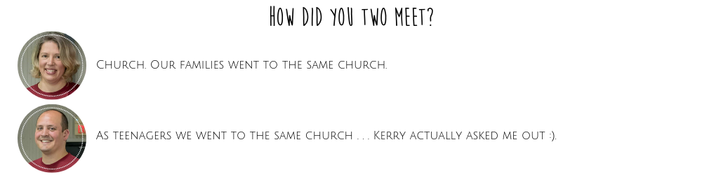 How Did You Two Meet?