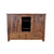 Planked Rustic Entertainment Center