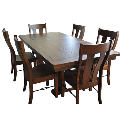 Cherry Wood Extendable Dining Table