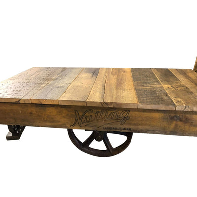 Lumber Cart Coffee Table - Rustic Red Door Co.