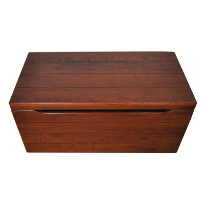 "Palmer Storage Chest, Cherry Wood, Washington Cherry Stain, 30"" - Rustic Red Door Co."