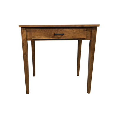 Small Shaker Writing Desk, Rustic Cherry, Provincial Stain - Rustic Red Door Co.