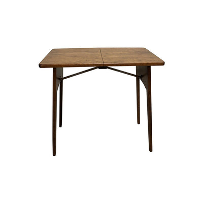 Midway Folding Table, Rustic Cherry wood, Michaels stain - Rustic Red Door Co.