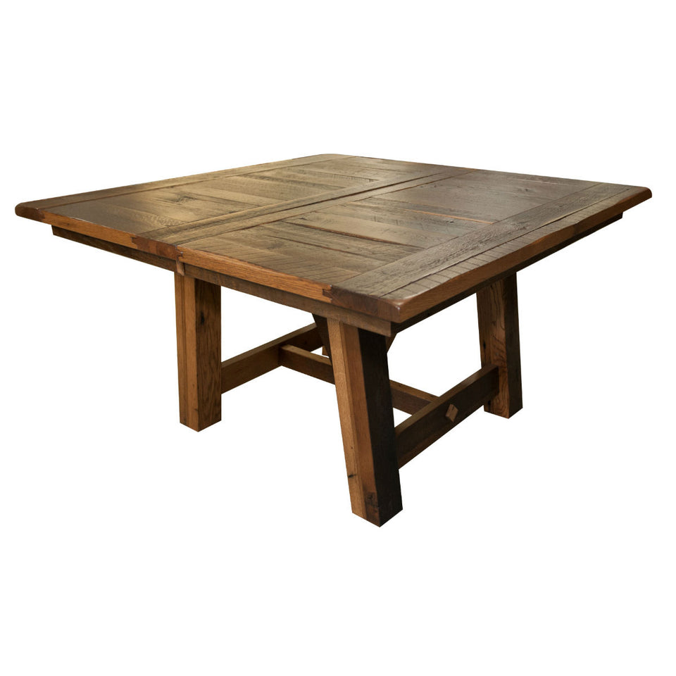 Hawthorne Reclaimed Oak Barnwood Extendable Dining Table - Rustic Red Door Co.