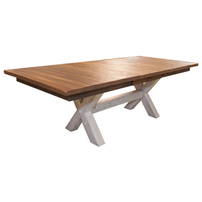 Foster Extendable Dining Table, 42x72x30 - Rustic Red Door Co.