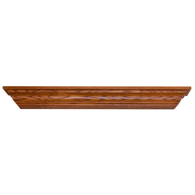 Wooden Crown Mantel Shelf - Rustic Red Door Co.
