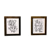 Grow Old With Me, The Best Is Yet To Be Prints, 2 Frame Set, Reclaimed Wood Frames, 8x10, Rustic, Tabletop Frames - Rustic Red Door Co.