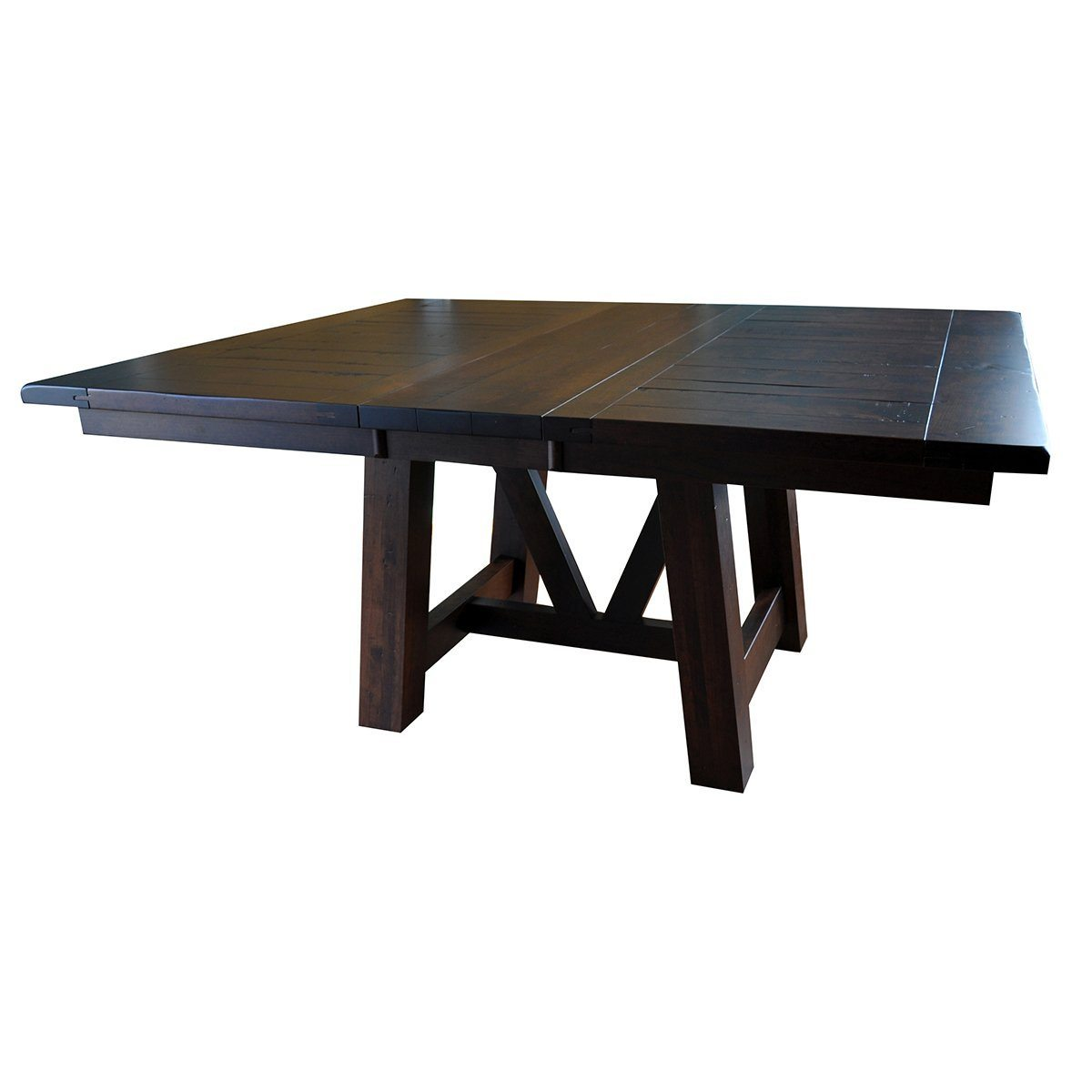 Picture of: Hawthorne Square Extendable Table Rustic Red Door Co