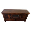 Rustic Cherry Entertainment Center, Asbury Stain, 60x18x30 - Rustic Red Door Co.