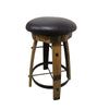 "Swivel Barrel Stool, 27.5"" High - Rustic Red Door Co."