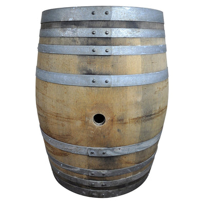 Reclaimed Oak Wine Barrel - Rustic Red Door Co.