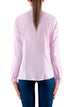 Pink Shirt with Military Details - Elizabeth