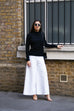 City Culottes in White
