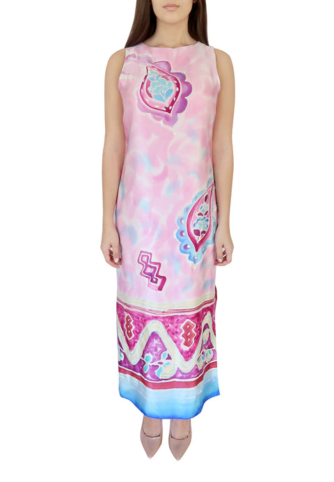 Taj Mahal Silk Dress