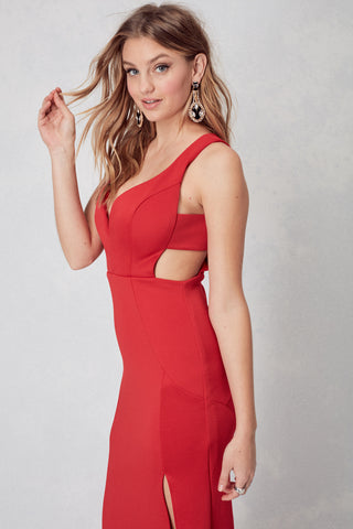 Oh La La Gown in Red