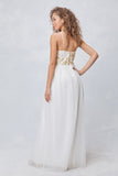 Golden Garden Party Gown