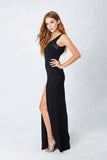 Sleek Sweetheart Gown