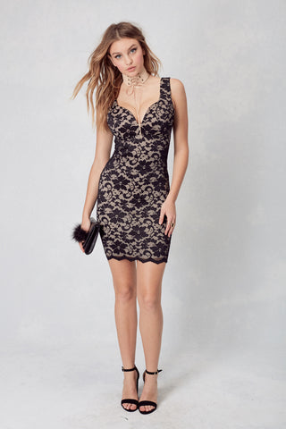 Coconut Grove Hollywood Dress in Black