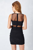 Night Time Illusion Bodycon