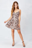 Flower Sparks Blush Party Dress