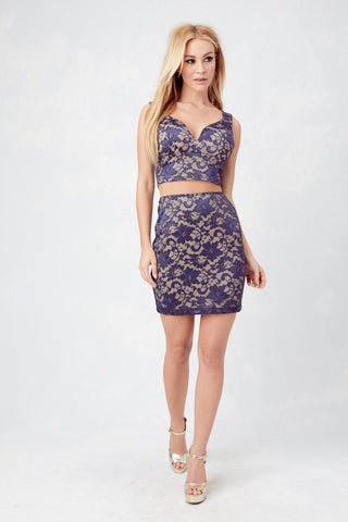 Bryana Holly LA Lace Bodycon