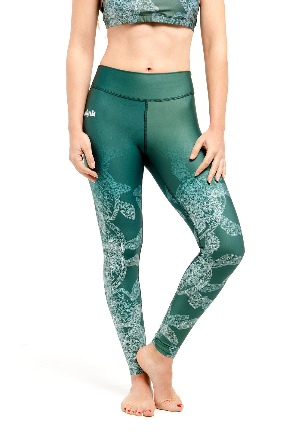 HIGH-WAIST Leggings - Turtle