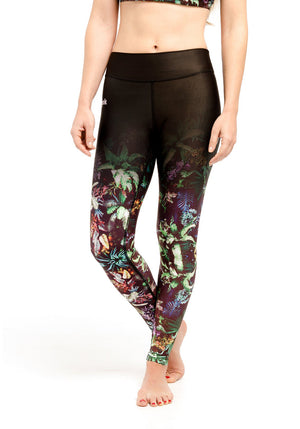 Compression Leggings - Jungle