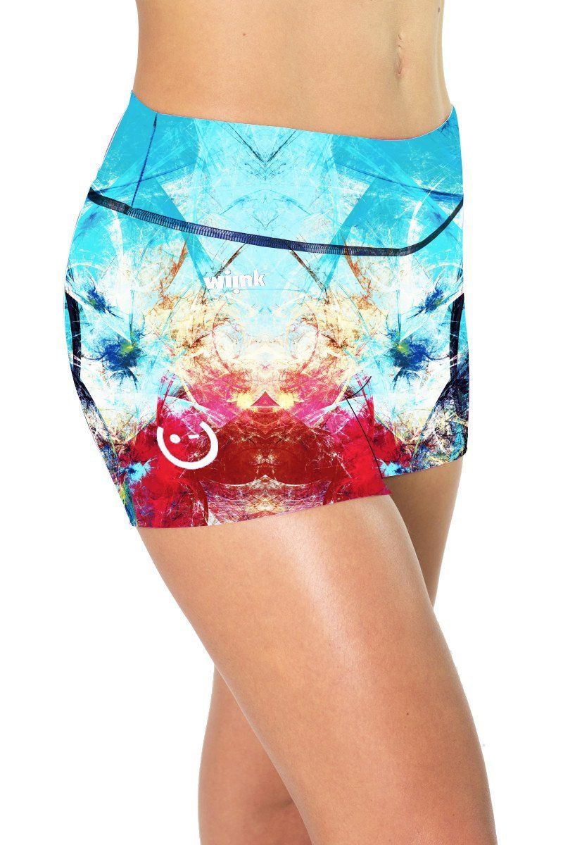 Abstract Shorts - wiinkbcn