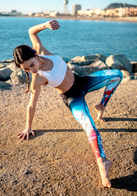 Compression Leggings - Abstract - wiinkbcn