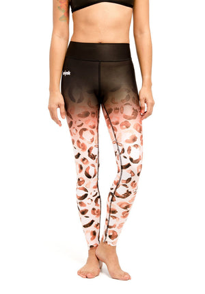 Compression Leggings - Feline Rose - wiinkbcn