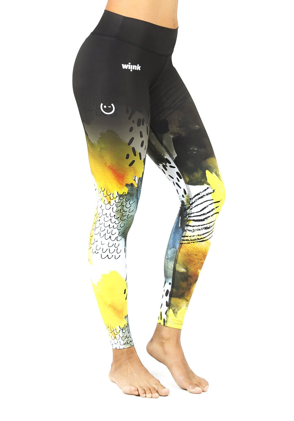 Leggins Brush Tiro Alto - wiinkbcn