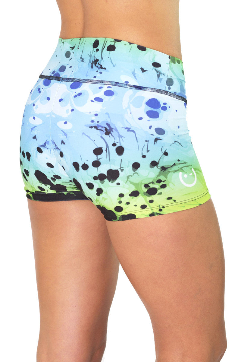 Lava Green Shorts
