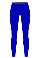 Blue High Waisted Pant