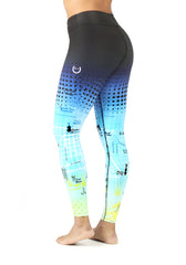 Leggins Barcelona Map V2 Tiro Alto