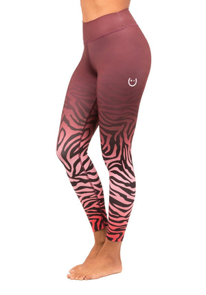 Zebra Colors High Waisted Pant - wiinkbcn