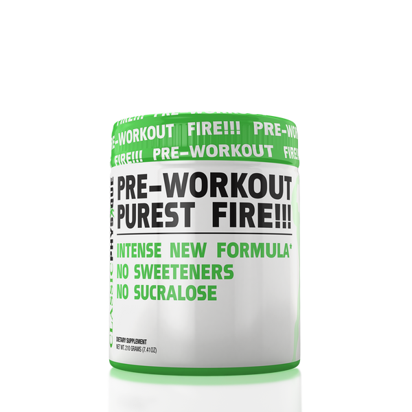 Purest Fire Pre-workout