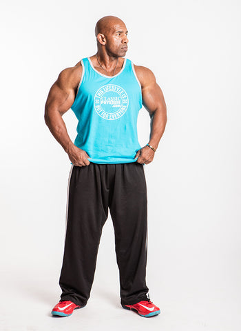 Classic Physique Not for You Tank - Caribbean Blue