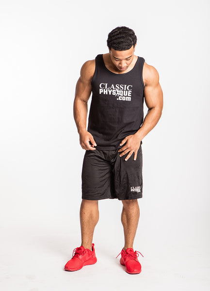 Classic Physique Muscle Hustle Tank - Black