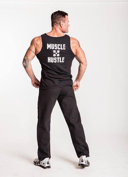 Classic Physique Muscle Hustle Pocketed Sweatpants - Black