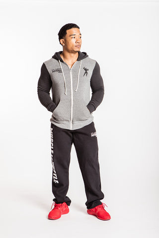 Classic Physique Complete Athelte Full-Zip - Eco Grey/Eco True Black